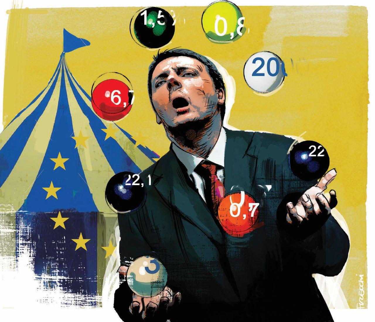 Banche, referendum, guerra e Rai: ecco le 15 bugie di Renzi