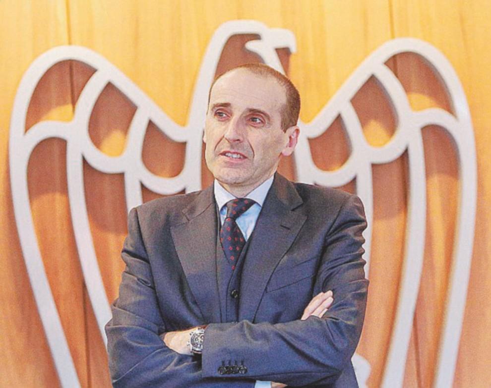 Alberto Vacchi, a capo dell'azienda di famiglia.
