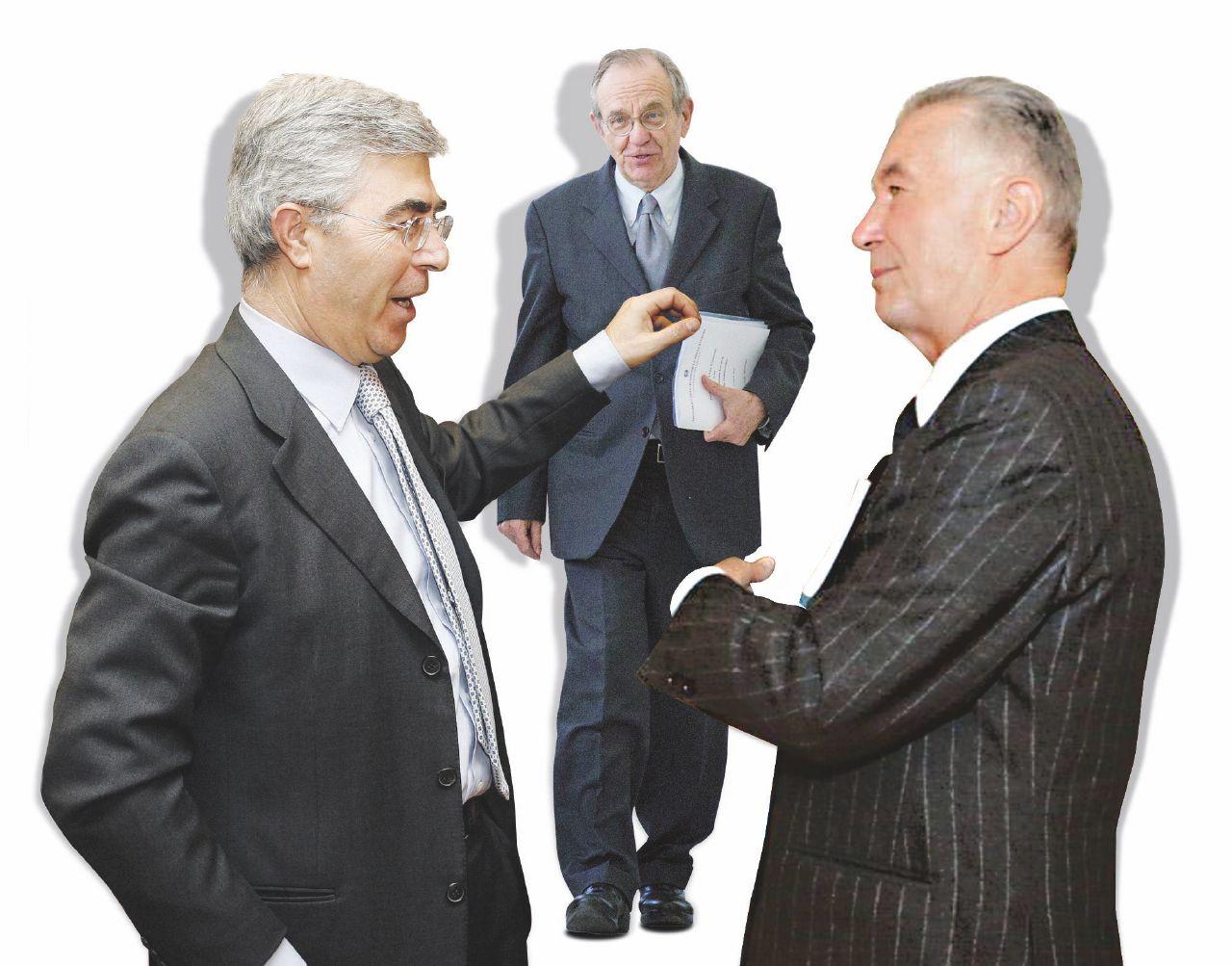 In Edicola sul Fatto Quotidiano del 24 agosto: Grazie al governo i banchieri-scandalo possono tornare