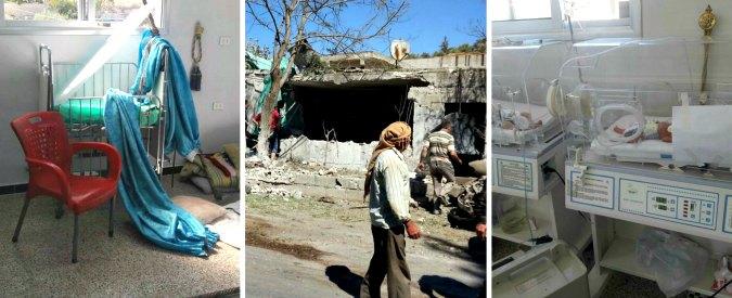 """Siria, la guerra ai medici: '750 morti dal 2011. A fine luglio la settimana peggiore'. Le ong denunciano. Russia: """"Propaganda"""""""