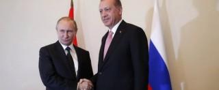 Putin-Erdogan, alleanza a tempo per fare paura all'Occidente. Ma comanda lo zar