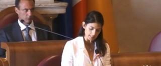 """Roma, Raggi presenta programma : """"Municipalizzata rifiuti Ama va riorganizzata: ha 600 milioni di debiti"""""""