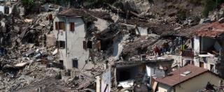 """Terremoto, tetti in cemento armato aumentano rischio crolli: non solo ad Amatrice.""""Molto diffusi in passato"""""""