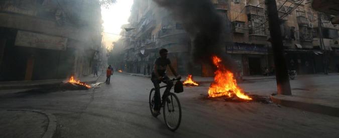 "Aleppo, l'Onu chiede tregua umanitaria: ""Due milioni di civili senza acqua e luce"""