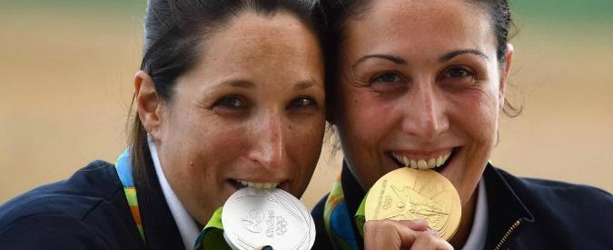 Tiro a volo, doppietta azzurra: Diana Bacosi oro e Chiara Cainero argento nella finale di skeet