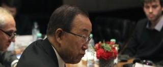 "Siria, Ban Ki-moon: ""Ad Aleppo si rischia catastrofe umanitaria senza precedenti"""