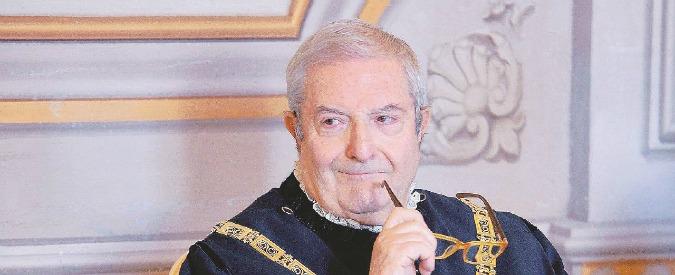 Consulta, procura di Roma chiede di archiviare indagine sul giudice Barbera per prescrizione
