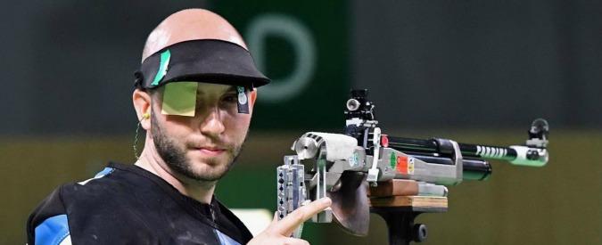Olimpiadi Rio 2016, Niccolò Campriani vince l'oro nella carabina da dieci metri per l'Italia è il terzo trionfo