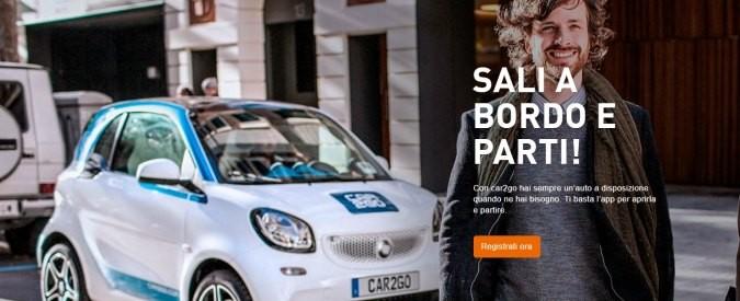 Car sharing, Car2Go: tagliate fuori da contratto le regioni del Sud