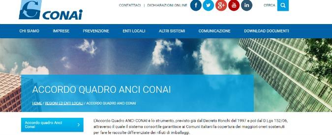 """Raccolta differenziata, interrogazione del M5S sul monopolio Conai: """"Urgente riforma del sistema consortile"""""""