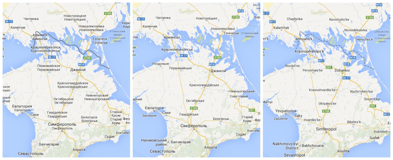"""Google Maps e la """"politica dell'amicizia"""": mappe differenziate per i territori contesi. Ma vale solo per Russia, Cina e India"""