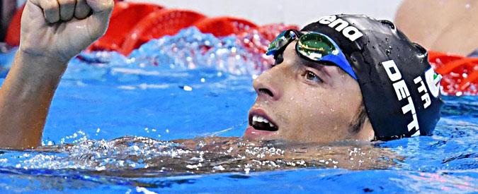 Olimpiadi Rio 2016, Detti riporta l'Italia sul podio dei 400 stile libero: bronzo nel maschile. Seconda medaglia azzurra