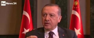 """Erdogan: """"Mio figlio indagato a Bologna, rapporti a rischio con l'Italia"""". Renzi: """"Da noi giudici rispondono alla Costituzione"""""""
