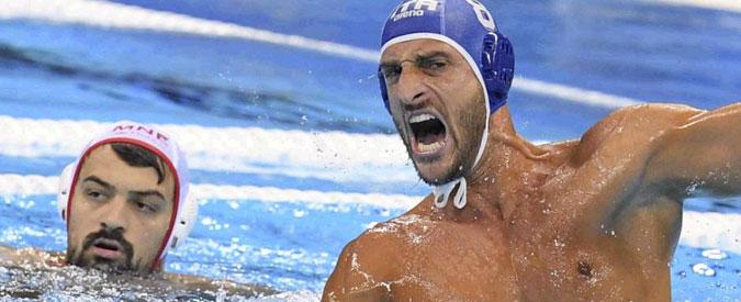 Olimpiadi Rio 2016, Italia bronzo nella pallanuoto. Settebello batte Montenegro 12 a 10
