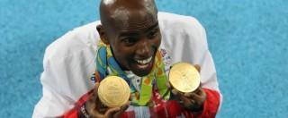 """Olimpiadi Rio 2016, Mo Farah nella storia: """"double-double"""" 5mila-10mila dopo Londra. Brasile, finalmente oro nel calcio"""