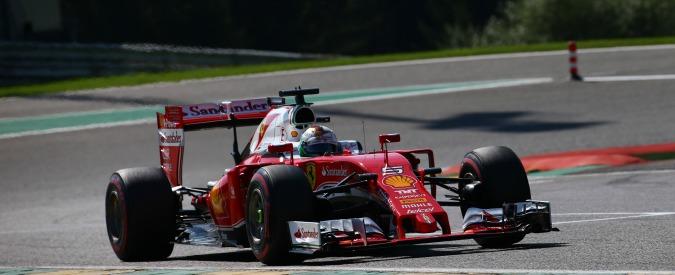 Formula 1, Gran Premio del Belgio: trionfo Mercedes con Rosberg e Hamilton, da ultimo a terzo. Suicidio Ferrari