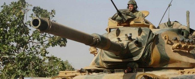 "Siria, Osservatorio diritti umani: ""35 civili morti a causa dei raid turchi a Jarablus"""
