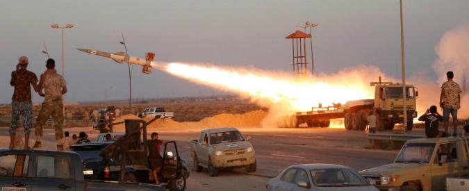 Libia & C.: l'Italia si sganci dal meccanismo della guerra
