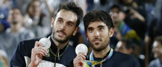 Olimpiadi Rio 2016, gli azzurri del beach volley sfiorano l'impresa ma alla fine è argento. Vince il Brasile