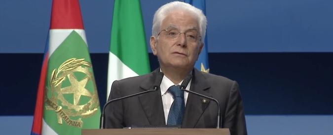 """Meeting Cl, Mattarella all'inaugurazione: """"Spostamenti migratori non si risolvono con un cartello che vieta l'ingresso"""""""