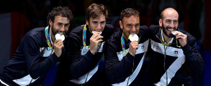 Rio 2016, l'argento della spada a squadre raddrizza i giochi della scherma azzurra