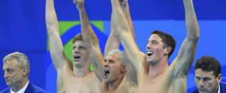 """Rio 2016, video smentisce Lochte e gli altri nuotatori Usa: """"Nessuna rapina. Rissa da ubriachi con vigilantes"""""""