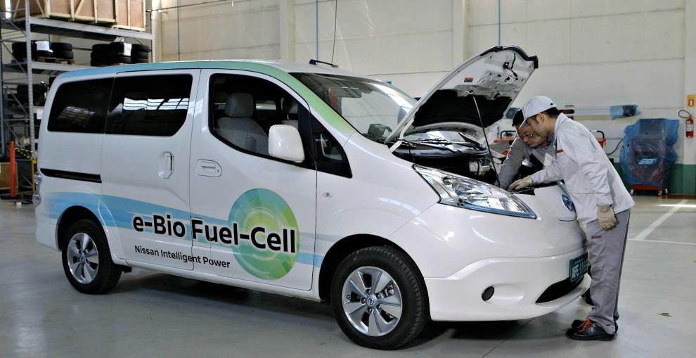Nissan, in Brasile presenta l'auto che va ad acqua e alcol – FOTO