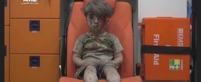 Siria, i bambini ostaggio dei media