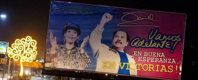 Nicaragua, Ortega sceglie sua moglie come candidato alla vicepresidenza. Ed espelle 28 oppositori dal Parlamento