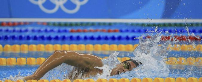 """Rio 2016, Gregorio Paltrinieri medaglia d'oro nei 1500: """"Ho sempre voluto questa medaglia"""". Gabriele Detti bronzo"""