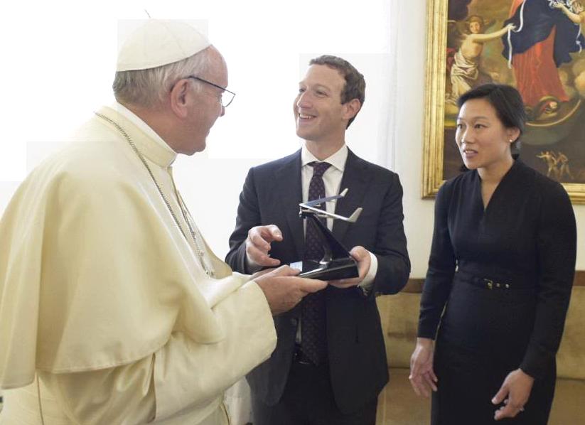 Lunedi' Mark Zuckerberg a Roma, incontra studenti della Luiss