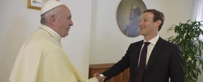 """Zuckerberg in Italia incontra il Papa, Renzi e gli studenti. Poi """"dona"""" alla Croce Rossa 500mila euro di crediti su Facebook"""