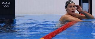 """Federica Pellegrini, la """"Divina"""" fra alti e bassi. E dopo la delusione di Rio scrive: """"Forse è tempo di cambiare vita"""""""