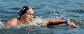 Rachele Bruni argento nella 10 chilometri di nuoto: 22esima medaglia italiana