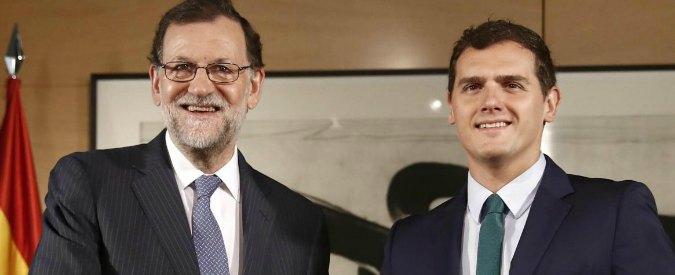 """Spagna, Rivera (Ciudadanos): """"Rajoy, possibile investitura da premier a fine agosto"""""""