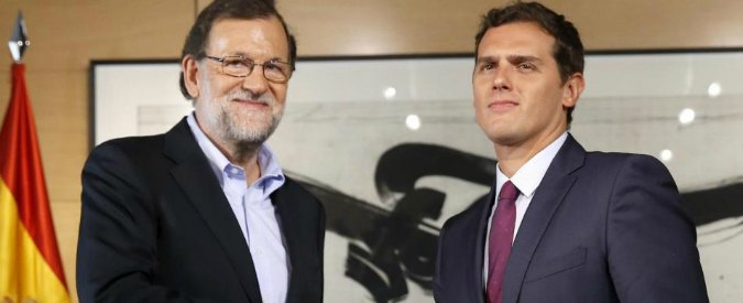 Spagna, intesa Ciudadanos-Pp: attesa per l'incontro tra Rajoy e i socialisti