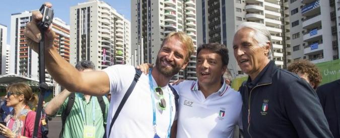 Renzi alle Olimpiadi di Rio 2016, campione di presenzialismo (e menefreghismo)