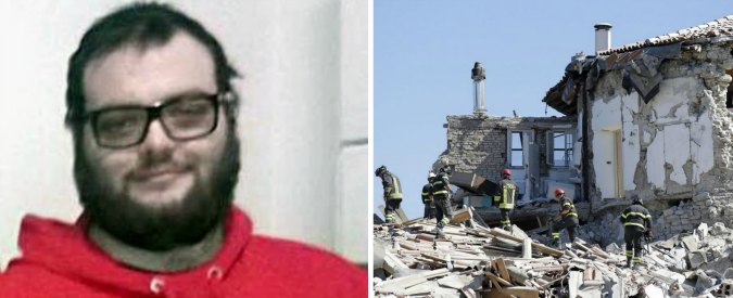 """Terremoto, il questore di Frosinone: """"Sono corso da mio figlio. Ma è morto sotto le macerie"""""""