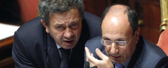 """Schifani e Azzollini tornano in Forza Italia. Brunetta: """"Ora centrodestra di governo"""""""