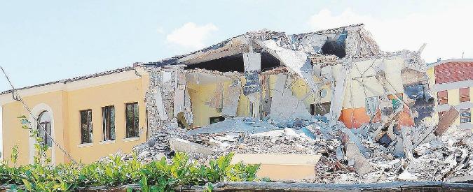 """Terremoto Centro Italia, il costruttore: """"Scuola crollata? Nessuno mi ha chiesto l'adeguamento sismico"""""""