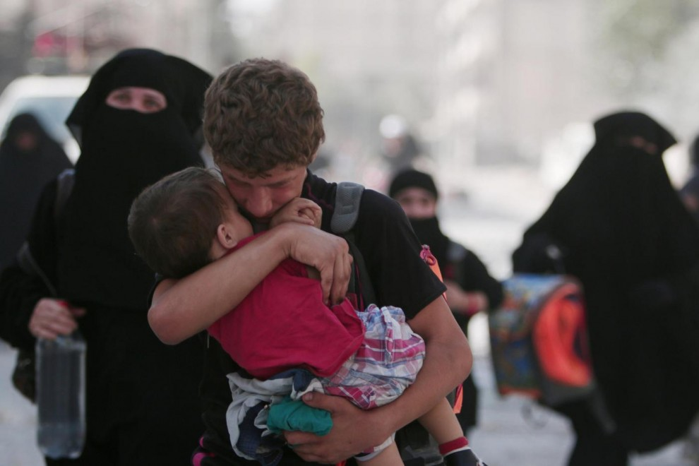 Siria: Isis si ritira da Manbij ma...2mila civili scudi umani