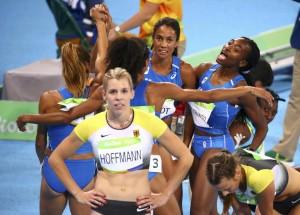 Atletica, staffetta 4x400 femminile - Olimpiadi Rio 2016