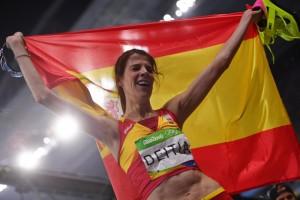 Finale salto in alto femminile - Giochi Olimpici Rio 2016