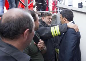 Terremoto in centro Italia: lMatteo Renzi visita le zone colpite dal sisma