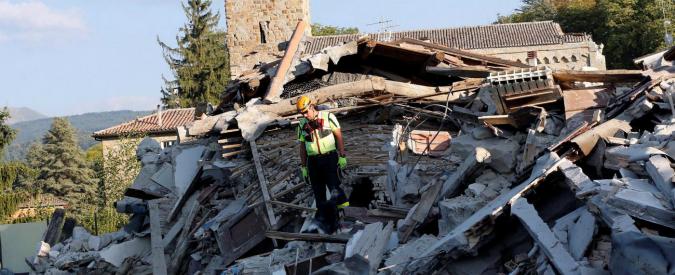 Terremoto Centro Italia, nuova scossa nella notte in provincia di Rieti: magnitudo 4.1