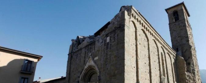 Terremoto: l'impegno morale di Renzi, i borghi e il patrimonio storicoartistico