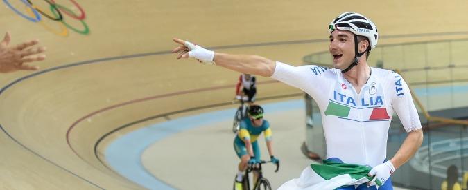 Elia Viviani regala l'ottavo oro all'Italia: suo l'Omnium del ciclismo su pista