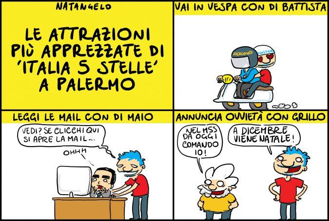 Tre cose da non perdere a Italia 5 Stelle