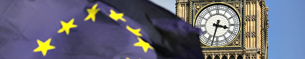 """A European Union flag in front of Big Ben, as Remain supporters demonstrate in Parliament Square, London, to show their support for the EU in the wake of Brexit. PRESS ASSOCIATION Photo. Picture date: Saturday July 2, 2016. Protesters wearing EU flags as capes and with homemade banners saying """"Bremain"""" and """"We Love EU"""" gathered for the rally. See PA story POLITICS Protest. Photo credit should read: Daniel Leal-Olivas/PA Wire"""