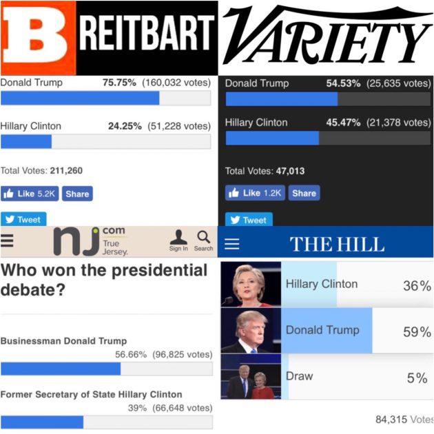 sondaggi vittoria trump confronto tv